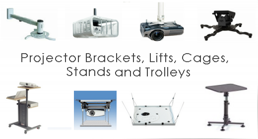Projector Mounts, brackets and stands