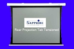 Sapphire Rear Projector Screens