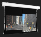 Screen International Double Format Tensioned Projector Screens